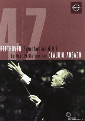 베토벤 : 교향곡 4번, 7번 - 아바도