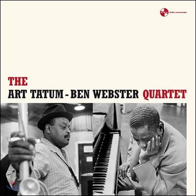 Art Tatum & Ben Webster Quartet (아트 테이텀 & 벤 웹스터 쿼텟) [LP]