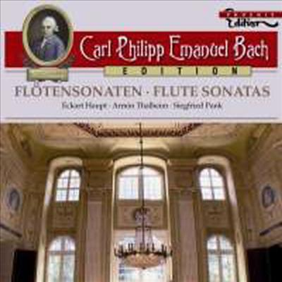 C.P.E 바흐: 플루트 소나타 (C.P.E Bach: Flute Sonatas) - Eckart Haupt