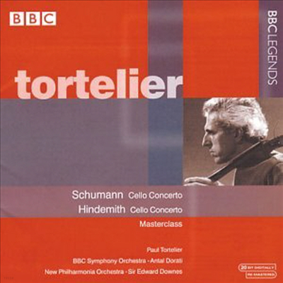 슈만, 힌데미트 : 첼로 협주곡 (Schumann, Hindemith : Cello Concertos) - Paul Tortelier