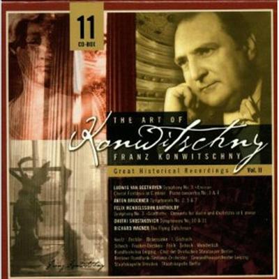 프란츠 콘비츠니의 예술 (Art of Konwitschny Vol.2) (11CD Box-Set) - Franz Konwitschny