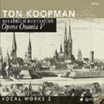 북스테후데 전집 5집 - 교회음악 2집 (Buxtehude : Vocal Works 2) - Ton Koopman
