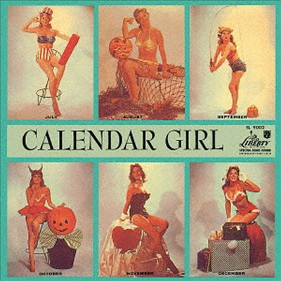 Julie London - Calender Girl (SHM-CD)(일본반)