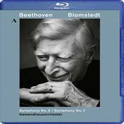 베토벤: 교향곡 6 '전원' & 7번 (Beethoven: Symphonies Nos.6 'Pastoral' & 7) (Blu-ray) (2017) - Herbert Blomstedt