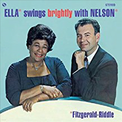 Ella Fitzgerald - Swings Brightly With Nelson (Ltd. Ed)(Remastered)(180G)(LP)