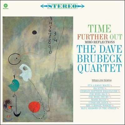 Dave Brubeck Quartet (데이브 브루벡 쿼텟) - Time Further Out: Miro Reflections [LP]