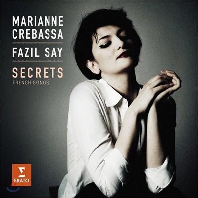 Marianne Crebassa 프랑스 가곡집 '비밀' - 드뷔시 / 라벨 / 포레 / 뒤파르크 (Secrets - Debussy / Ravel / Faure / Duparc: French Songs)