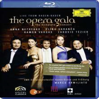 오페라 갈라 '바덴-바덴 라이브' (The Opera Gala - Live from Baden-Baden) (Blu-ray)(2009) - Anna Netrebko