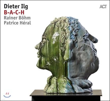 Dieter Ilg - B-A-C-H 디이터 일그 재즈 피아노 트리오로 듣는 바흐 음악 [LP]