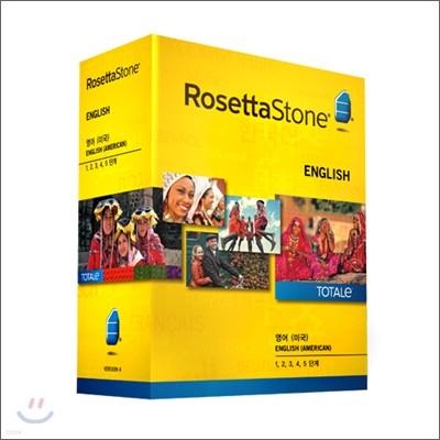 로제타스톤 TOTALe 미국식영어 Level 1,2,3,4&5 + 온라인 3개월
