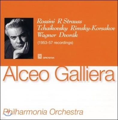 Alceo Galliera 알체오 갈리에라가 지휘하는 로시니, 슈트라우스, 차이코프스키와 드보르작 (Strauss / Tchaikovsky / Wagner / Dvorak)