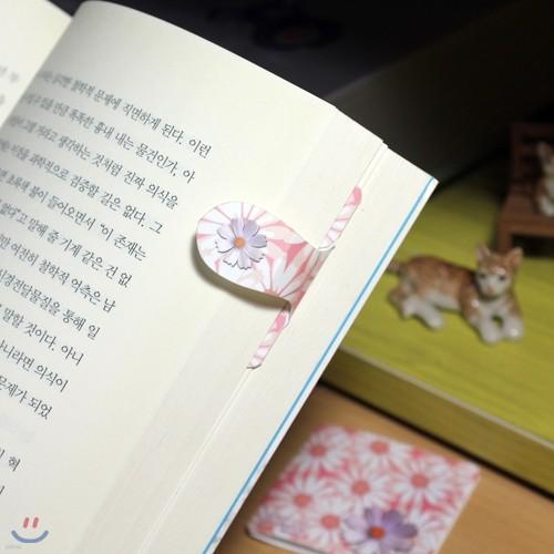 [자동책갈피 수지인(手紙印)] 코스모스