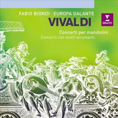 비발디 : 협주곡집 (Vivaldi : Concerti Con Molti Strumenti)(CD) - Fabio Biondi