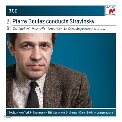 Pierre Boulez 피에르 불레즈가 지휘하는 스트라빈스키 (Conducts Stravinsky)