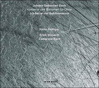 Heinz Holliger 바흐: 오보에 협주곡집 - 하인츠 홀리거 (JS Bach: Ich Hatte Viel Bekummernis)