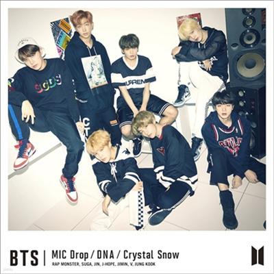 방탄소년단 (BTS) - MIC Drop / DNA / Crystal Snow (CD+DVD) (초회한정반 B)