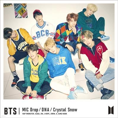 방탄소년단 (BTS) - MIC Drop / DNA / Crystal Snow (CD+Photo Booklet)