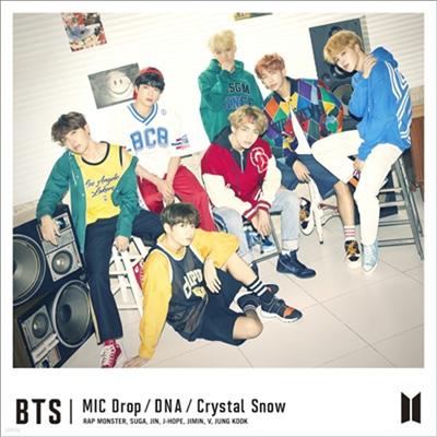 방탄소년단 (BTS) - MIC Drop / DNA / Crystal Snow (CD+DVD) (초회한정반 A)