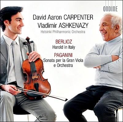 David Aaron Carpenter 베를리오즈 : 이탈리아의 해롤드 / 파가니니 : 그랜드 비올라 소나타 - 데이비드 아론 카펜터 (Berlioz: Harold in Italy)
