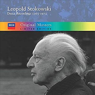 데카 레코딩 1집 1965 - 1972 -CD 첫 출반 녹음 다수 (Decca Recordings Vol.1,1965 - 1972) (5CD) - Leopold Stokowski