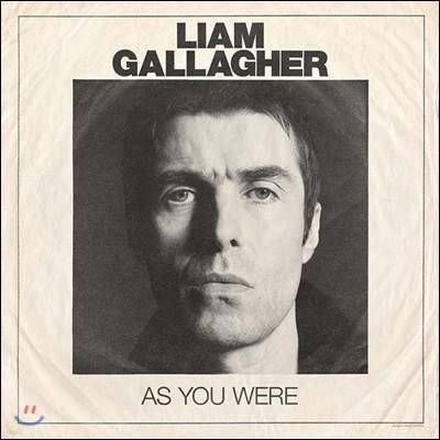 Liam Gallagher (리암 갤러거) - As You Were [일반반 LP]