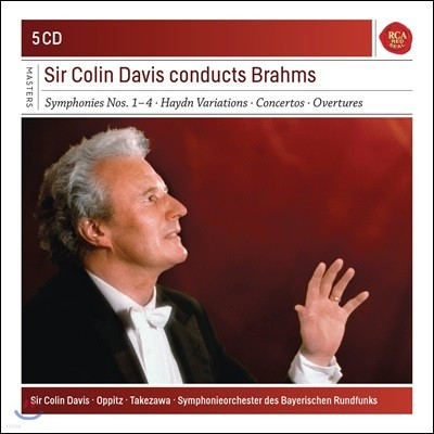 Colin Davis 콜린 데이비스가 지휘하는 브람스 (Brahms: Symphonies Nos.1-4, Haydn Variations: Concertos, Overtures)