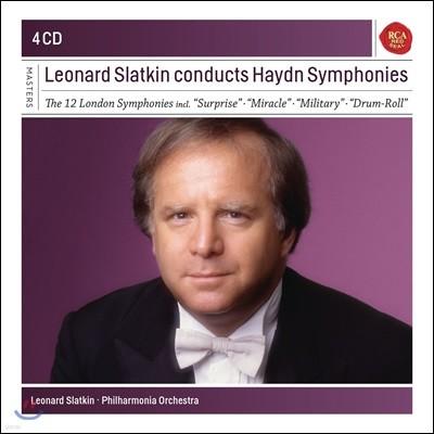 Leonard Slatkin 레너드 슬래트킨이 지휘하는 하이든 교향곡집 (Haydn: Symphonies)