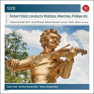 Robert Stolz 로버트 스톨츠가 지휘하는 비엔나 왈츠, 행진곡 외 (J. Strauss I & II / Josef Strauss / Lanner: Waltzes, Marches, Polkas etc.)