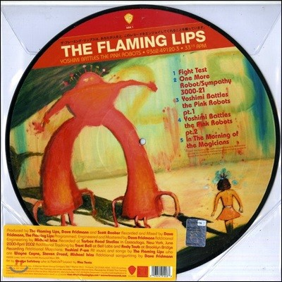 The Flaming Lips (플레이밍 립스) - Yoshimi Battles the Pink Robot [픽쳐 디스크 LP]