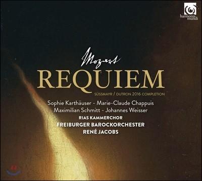 Rene Jacobs 모차르트: 레퀴엠 [쥐스마이어/듀트론 2016 보완] (Mozart: Requiem KV626)