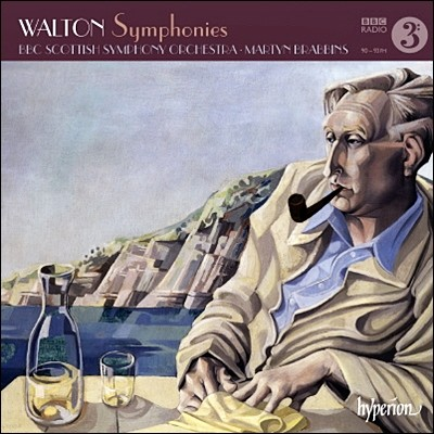 Martyn Brabbins 윌리엄 월턴: 교향곡 1번 & 2번, 시에스타 - 마틴 브라빈스 (William Walton: Symphony No.1, No.2)