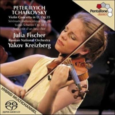 차이코프스키 : 바이올린 협주곡 (Tchaikovsky : Violin Concerto Op.35) (SACD Hybrid) - Julia Fischer