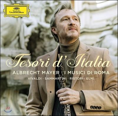 Albrecht Mayer 오보에 협주곡 - 비발디, 삼마르티니, 리스토리 (Tesori d'Italia)