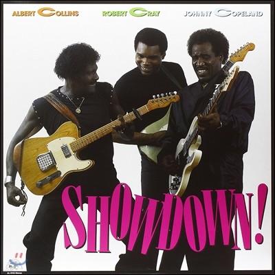 Albert Collins / Robert Cray / Johnny Copeland - Showdown! 알버트 콜린스, 로버트 크레이 & 조니 코플랜드 [LP]