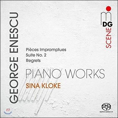 Sina Kloke 에네스쿠: 즉흥 단편곡 Op.18, 피아노 모음곡 2번, 리그레츠 (Enescu: Piano Works - Pieces Impromptues, Suite, Regrets)