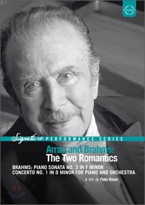 Claudio Arrau 브람스 : 피아노 소나타 3번, 피아노 협주곡 1번 (Arrau And Brahms : The Two Romantics) 클라우디오 아라우