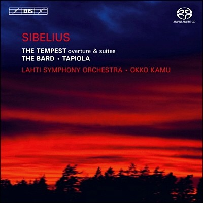 시벨리우스 : 템페스트 서곡 & 조곡, 교향시 '음유시인' & '타피올라'