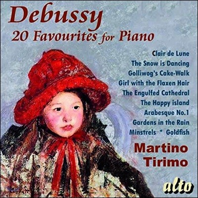 Martino Tirimo 드뷔시: 20개의 피아노 유명 작품집 (Debussy: 20 Favourites for Piano)