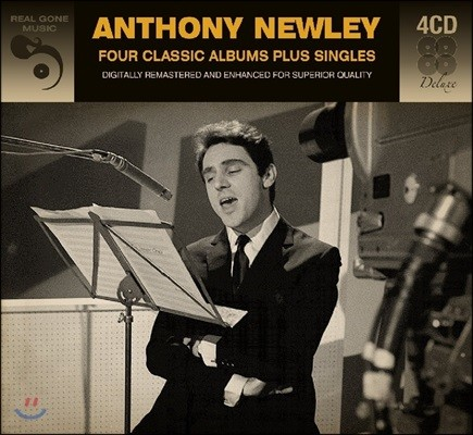 Anthony Newley (앤서니 뉴리) - Four Classic Albums Plus Singles