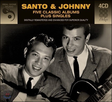 Santo & Johnny (산토 & 조니) - Five Classic Albums Plus Singles