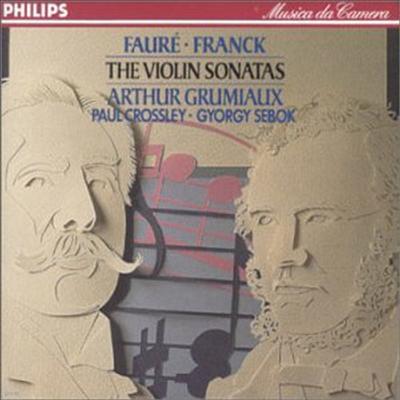 포레, 프랑크 : 바이올린 소나타 (Faure, Franck : Violin Sonatas) - Arthur Grumiaux