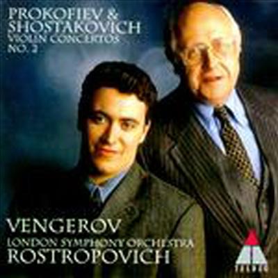 프로코피에프 / 쇼스타코비치 : 바이올린 협주곡 2번 (Prokofiev / Shostakovich : Violin Concertos No.2) - Maxim Vengerov