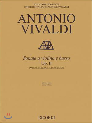 Sonata for Violin and Basso Continuo, Op. 2