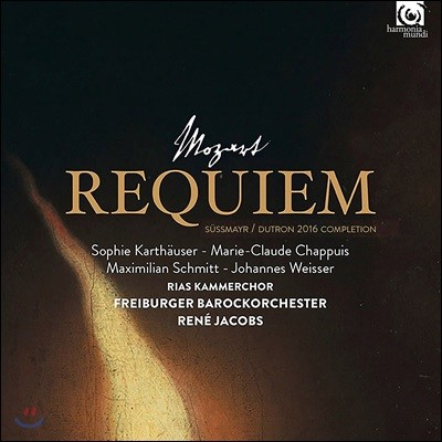 Rene Jacobs 모차르트: 레퀴엠 [쥐스마이어/듀트론 2016 보완] (Mozart: Requiem) [LP]