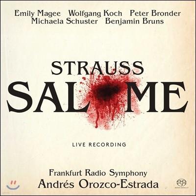 Andres Orozco-Estrada 슈트라우스: 오페라 '살로메' (R. Strauss: Salome)