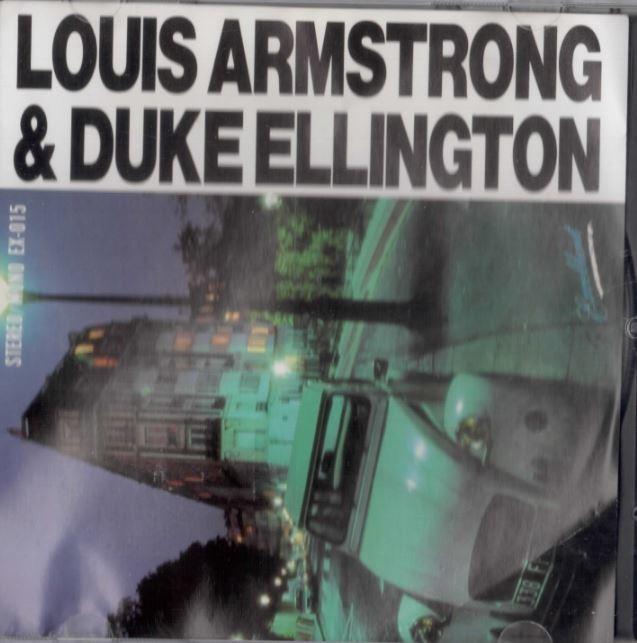 Louis Armstrong & Duke Ellington 일본판