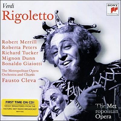 베르디 : 리골레토  (Metropolitan Opera) - 파우스토 클레바