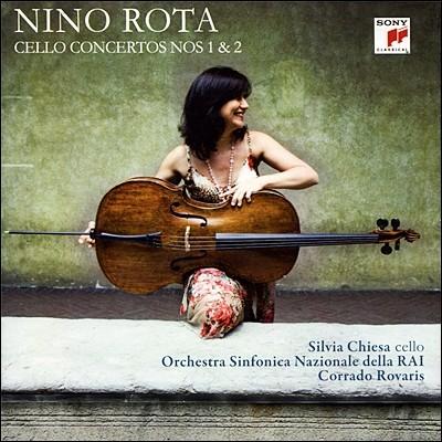 니노 로타 : 첼로 협주곡 1 & 2번 - 실비아 치에자