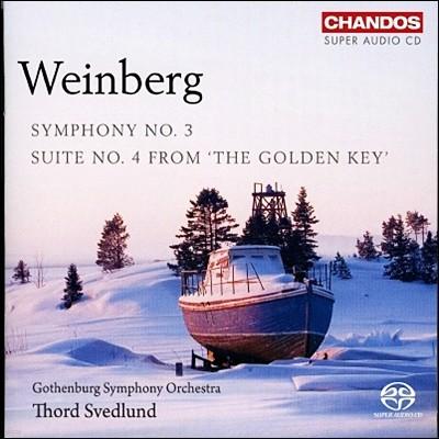 바인베르크 : 교향곡 3번, '황금 열쇠' 모음곡 4번