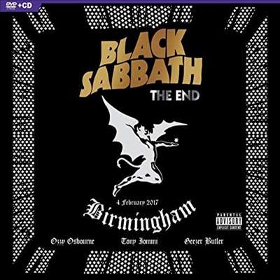 Black Sabbath - The End: Live In Birmingham (CD+DVD)